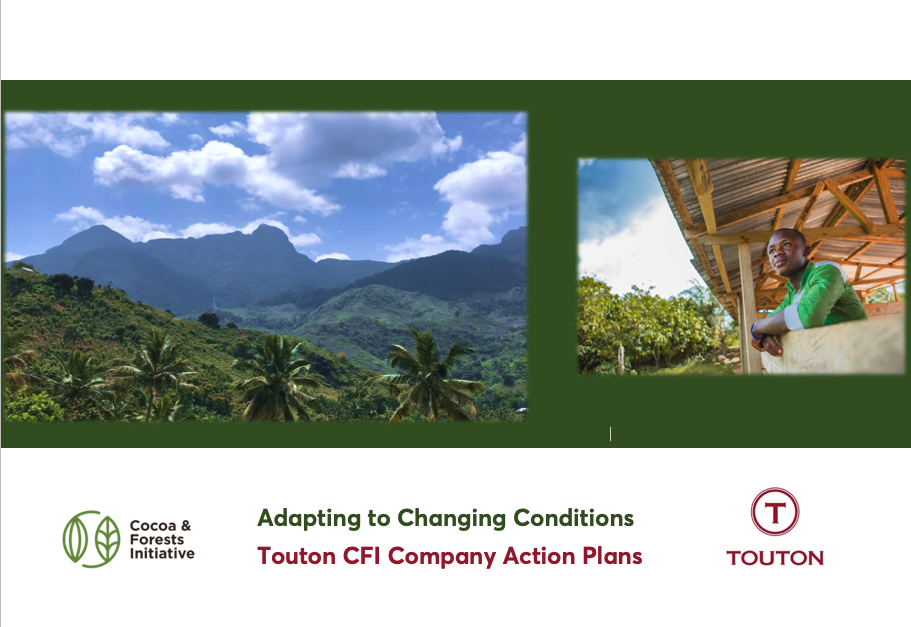 Touton publishes its Cocoa & Forests Initiative Reports for Côte d'Ivoire and Ghana