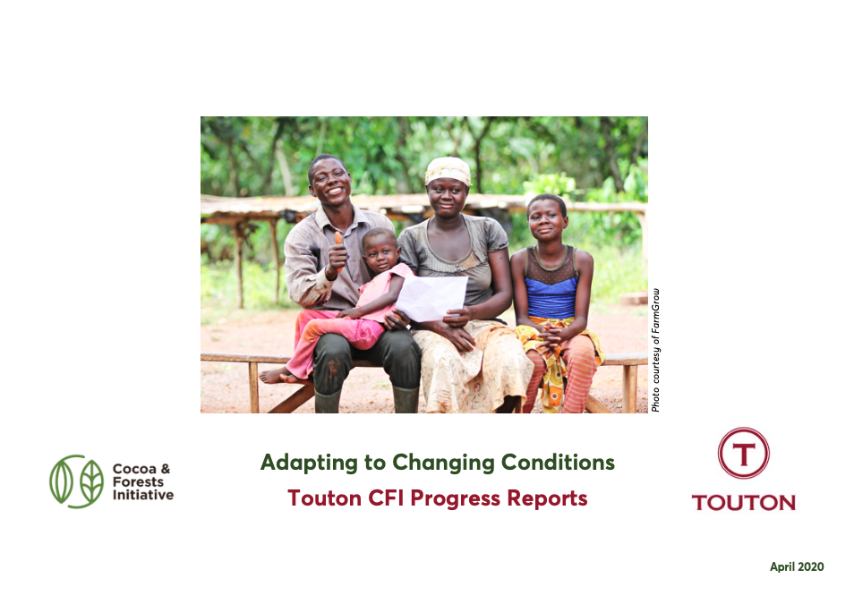 Touton publishes its Cocoa & Forests Initiative Progress Reports